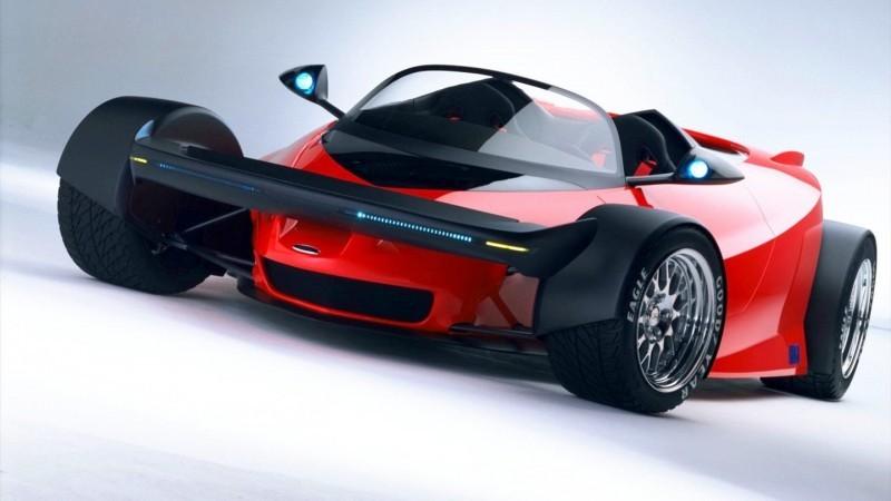 Ford Vision Gran Turismo Seems to Recall the 1996 INDIGO Open-Wheel Supercar Concept 14