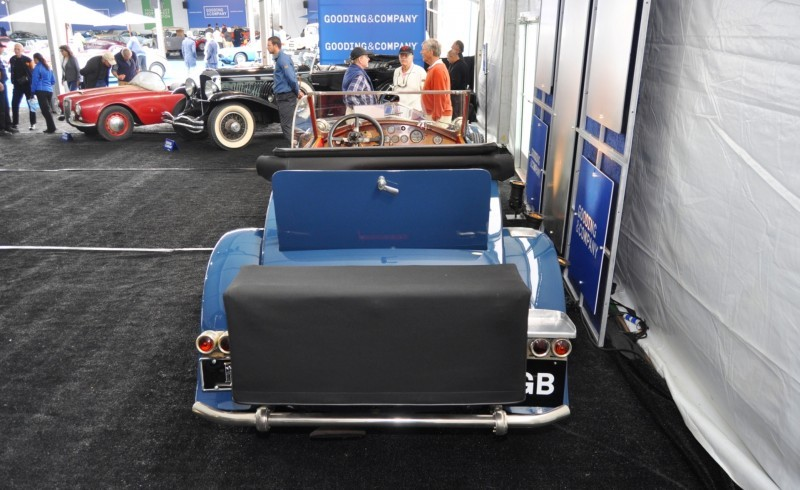 Gooding Pebble Beach 2014 Highlights - 1926 Rolls-Royce Silver Ghost Playboy Roadster 17