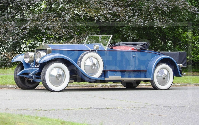 Gooding Pebble Beach 2014 Highlights - 1926 Rolls-Royce Silver Ghost Playboy Roadster 2