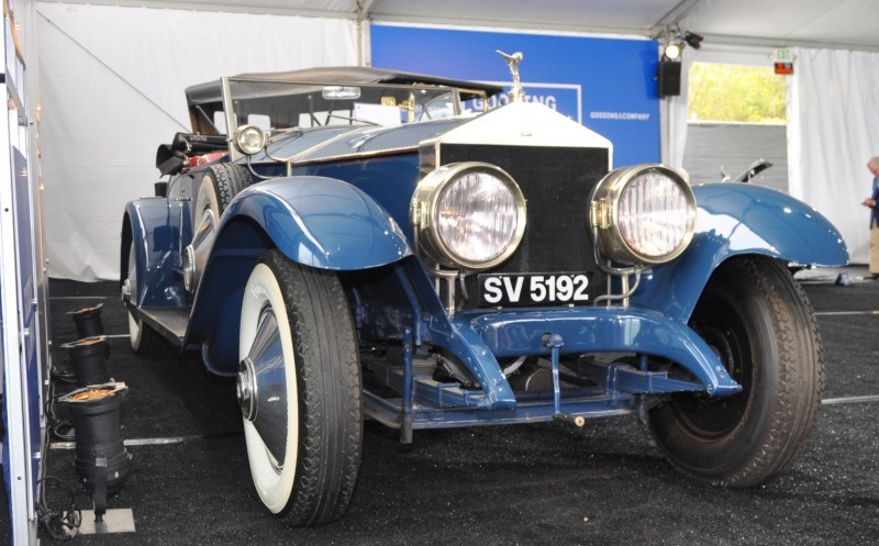 Gooding Pebble Beach 2014 Highlights - 1926 Rolls-Royce Silver Ghost Playboy Roadster 24