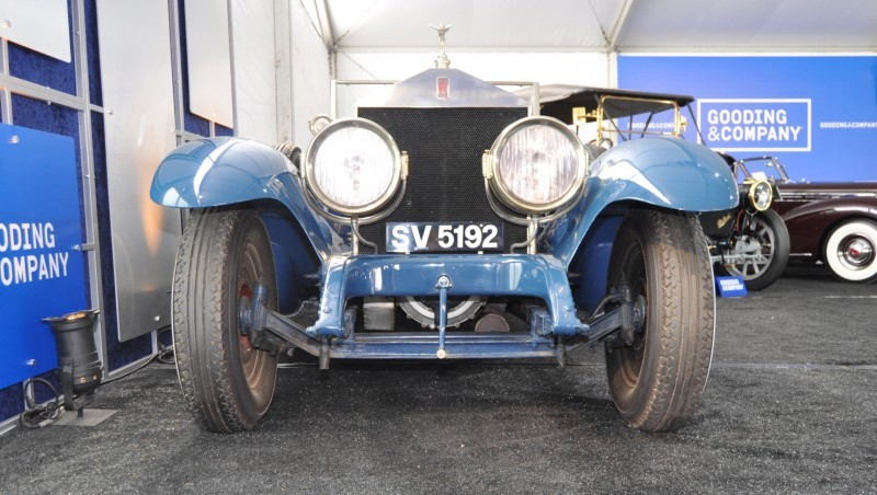 Gooding Pebble Beach 2014 Highlights - 1926 Rolls-Royce Silver Ghost Playboy Roadster 26