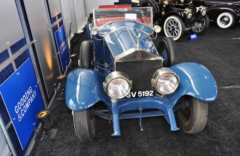 Gooding Pebble Beach 2014 Highlights - 1926 Rolls-Royce Silver Ghost Playboy Roadster 32