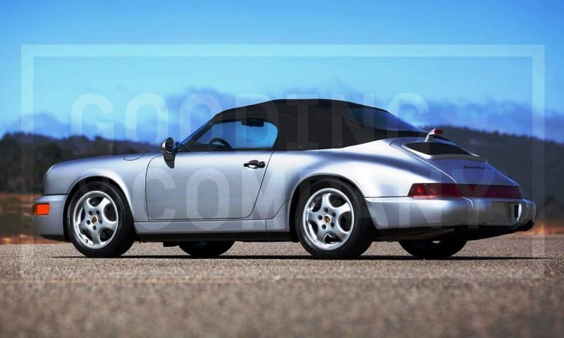 Gooding Pebble Beach 2014 Preview - 1994 Porsche 911 Carrera 3.6 Speedster 5