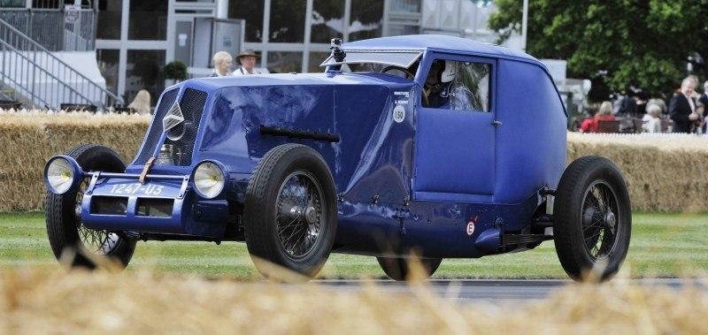 Goodwood 2014 - Renault 5 Maxi, 1926 40CV Type NM, 1965 Alpine M65, 2014 Megane RS + Clio RS 17