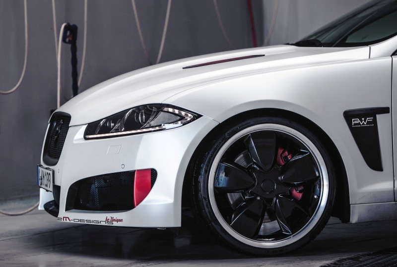 JAGUAR XF by 2M Designs Shows How To Personalize a Jag With Class 19