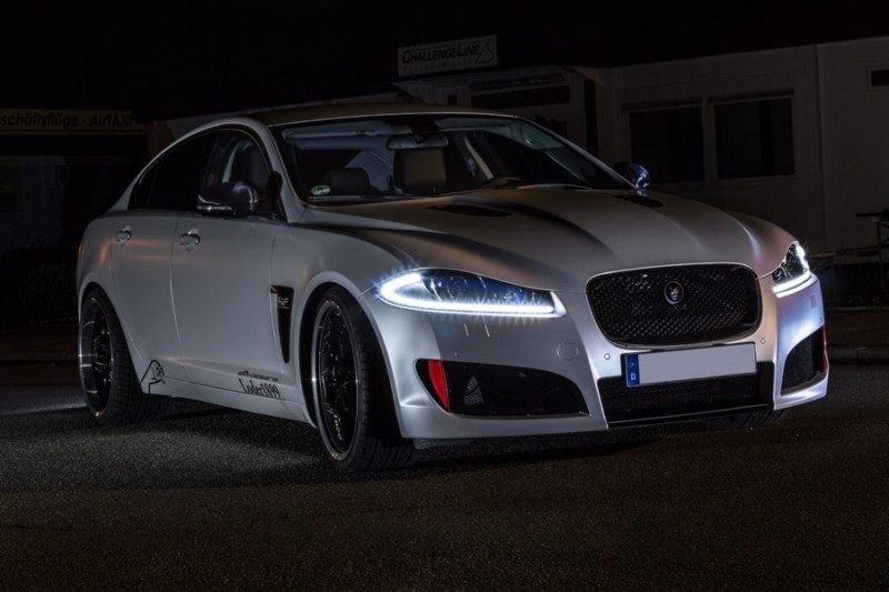 JAGUAR XF by 2M Designs Shows How To Personalize a Jag With Class 2
