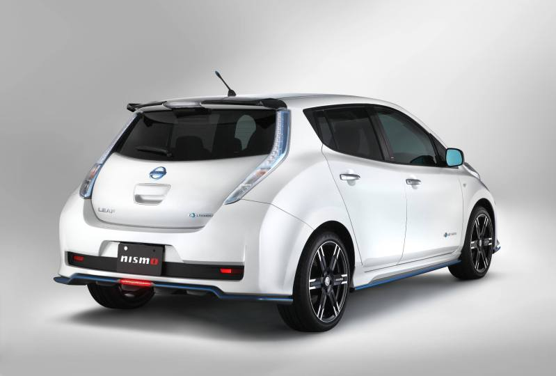 JDM Nissan Leaf Offers NISMO Accessories, ECU Reflash for Extra Power 2