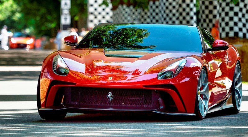 Jay Kay's Green LaFerrari and F12 TRS Spyder Cause Deadly Fanboy Riots at 2014 Goodwood FoS3