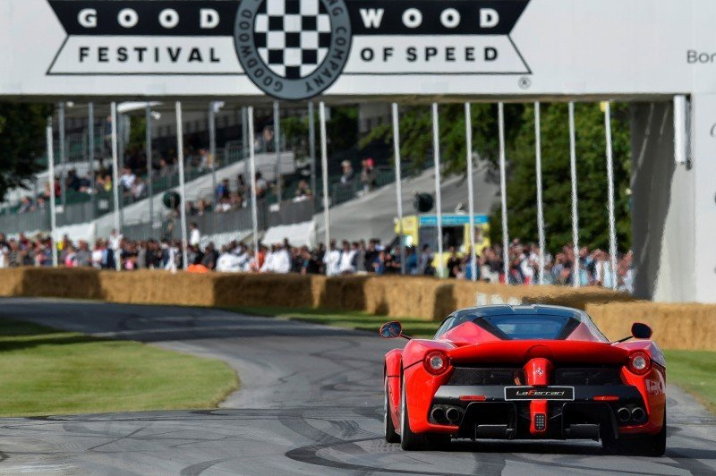 Jay Kay's Green LaFerrari and F12 TRS Spyder Cause Deadly Fanboy Riots at 2014 Goodwood FoS9