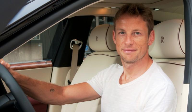 Jenson Button in Rolls-Royce Ghost Grand Prix du Canada(1)