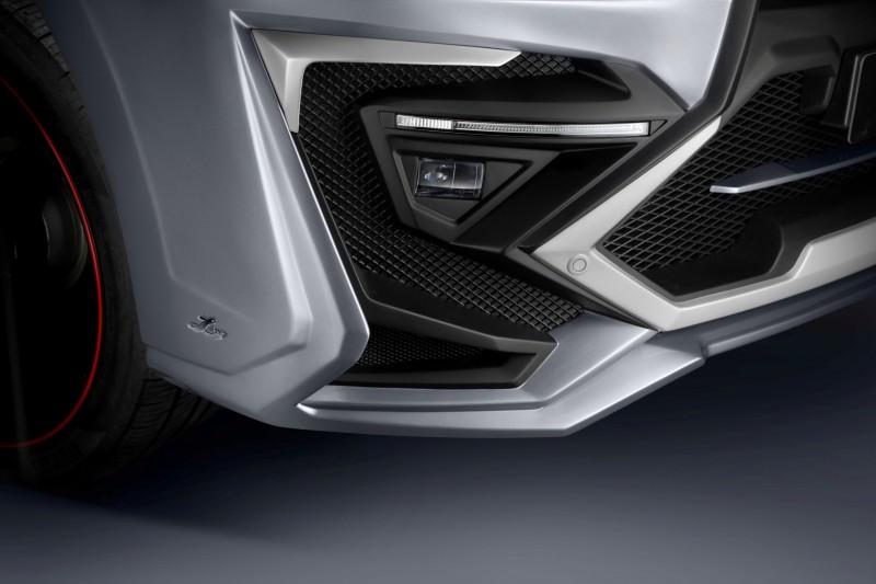 LARTE Design Creates Killer Alligator Upgrade for Lexus LX570 6