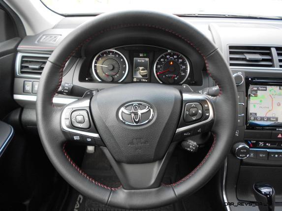 LKen Glassman 2016 Toyota Camry XSE Review 17