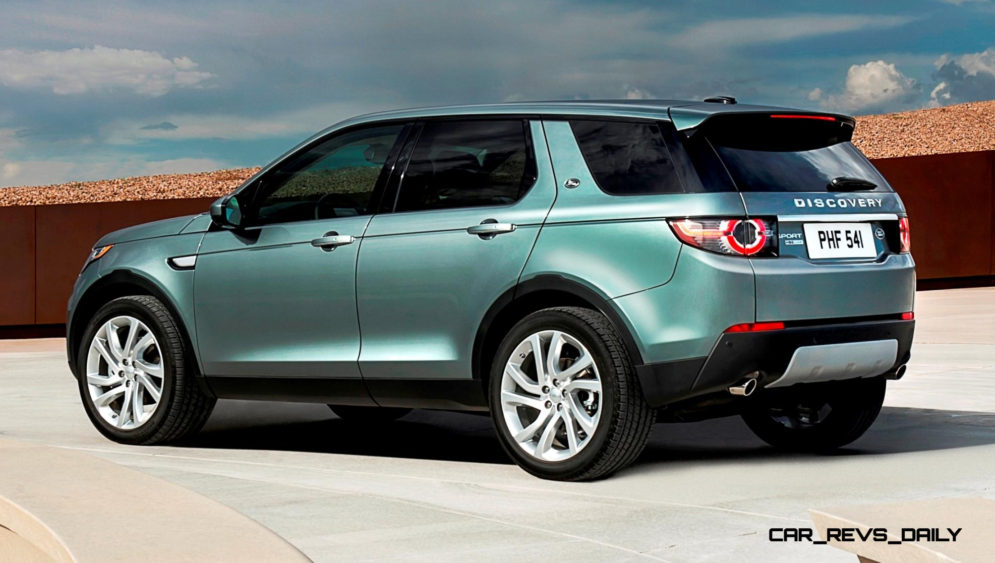 2015 Land Rover Discovery Sport is All New 5 2 Crossover from $38k