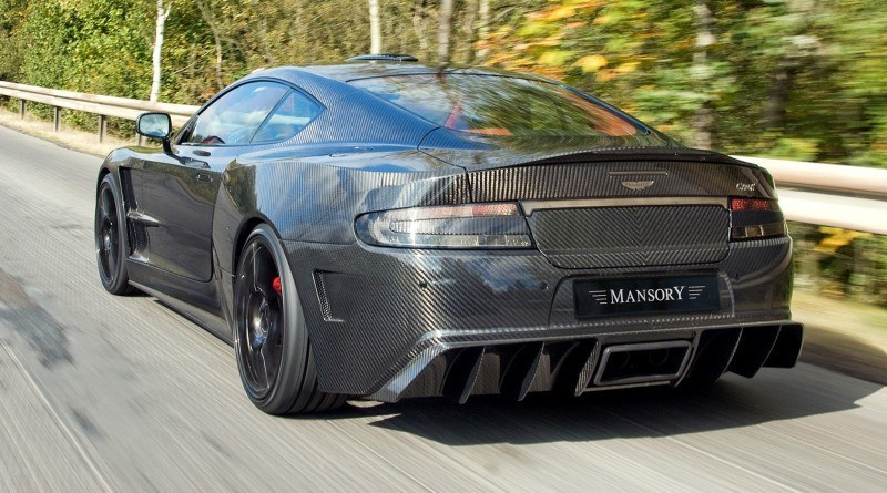MANSORY Cyrus is Fascinating Carbon Widebody for Aston Martin DB9 and DBS 20