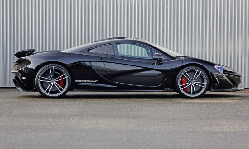 McLaren P1 on GEMBALLA GForged-one Wheels Specially Designed for McLaren 12C, 650S and P1 6