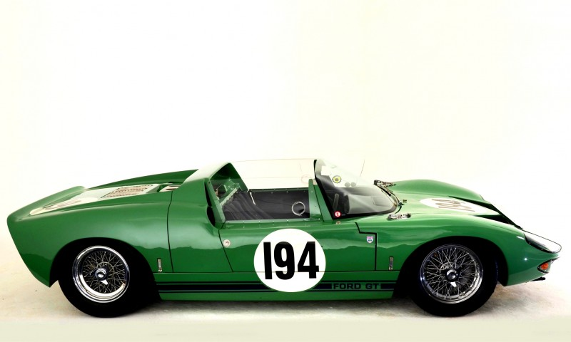 Meet the Original 1964 Ford GT40 Concept and 1965 GT40 Roadster Prototype 6