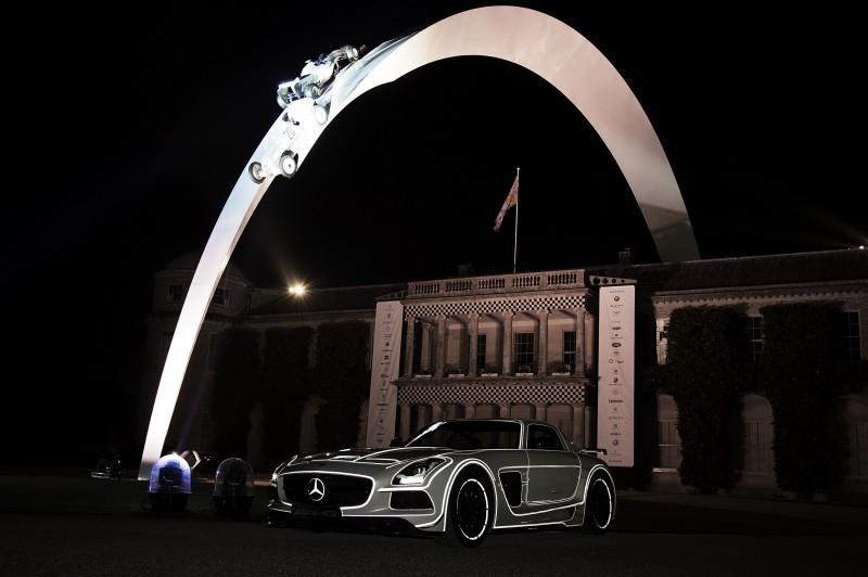 Mercedes-Benz 2014 Goodwood Sculpture Is Huge, But Predictably Joyless 24