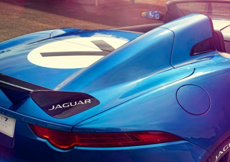 NOW and THEN Design Showcase - 2013 JAGUAR Project 7 versus 1955 JAGUAR D-TYPE  24