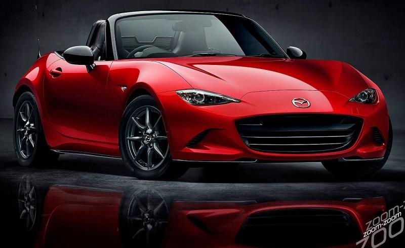 Next-Gen 2016 Mazda MX-5 First Look Shows Lean New Design 1