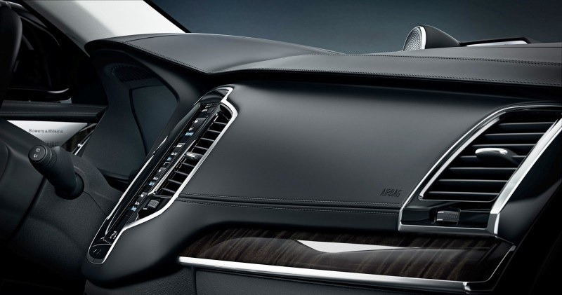 PRODUCTION 2015 VOLVO XC90 Interior First Look 12