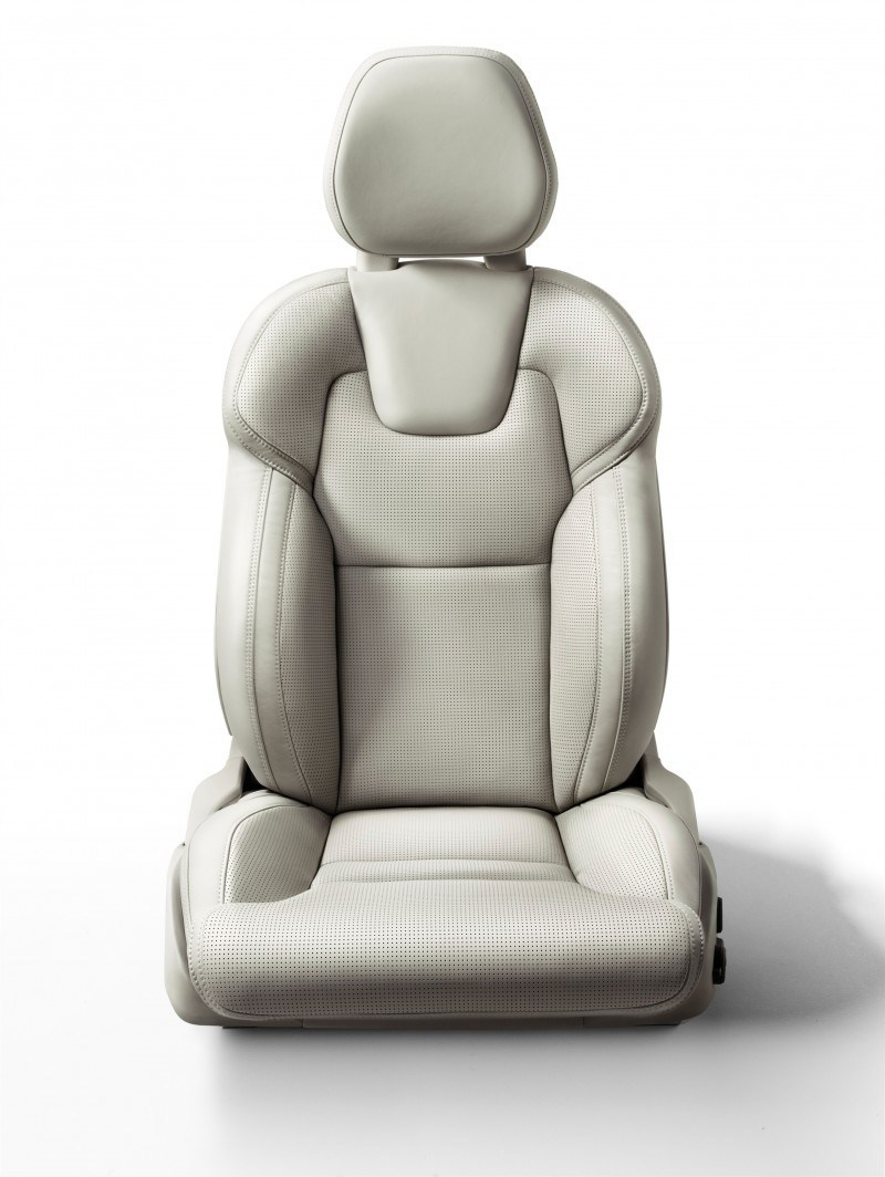PRODUCTION 2015 VOLVO XC90 Interior First Look 13