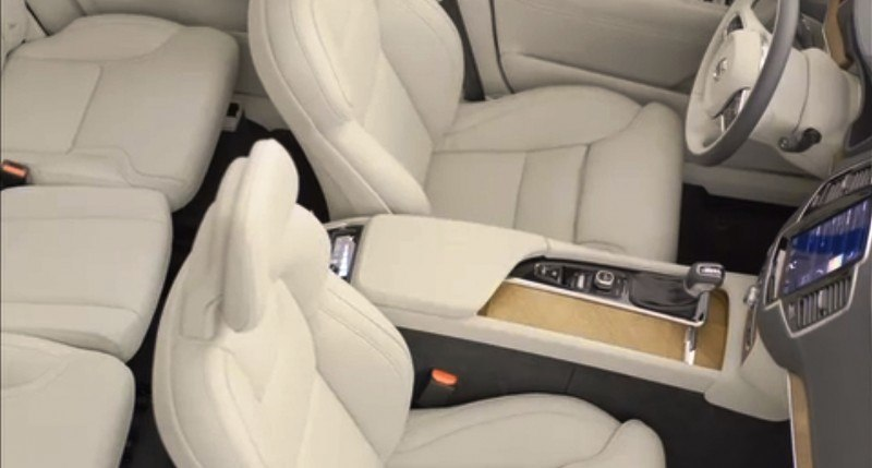 PRODUCTION 2015 VOLVO XC90 Interior First Look 26