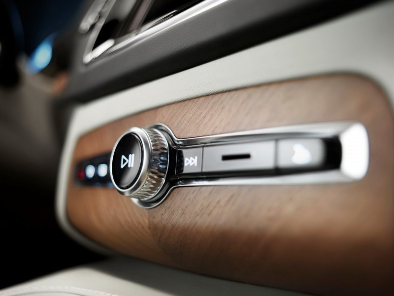 PRODUCTION 2015 VOLVO XC90 Interior First Look 3