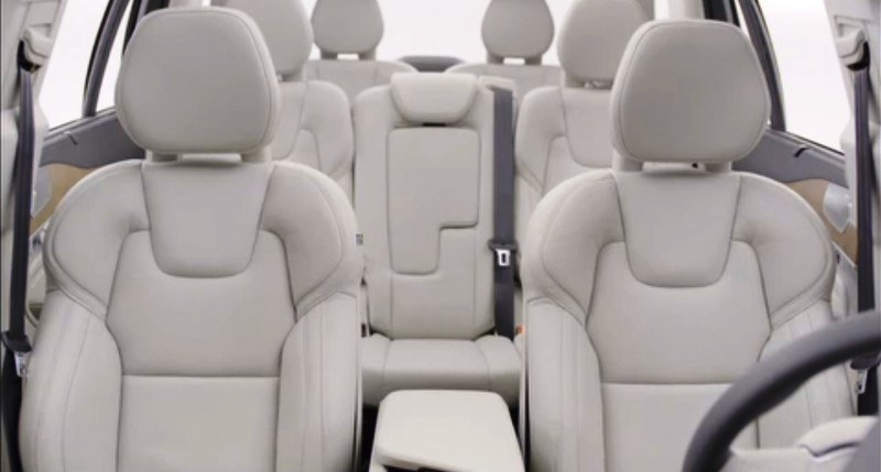 PRODUCTION 2015 VOLVO XC90 Interior First Look 30