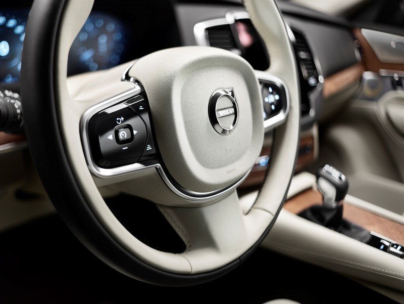 PRODUCTION 2015 VOLVO XC90 Interior First Look 4