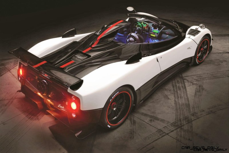 Pagani ZONDA Cinque Roadster 2