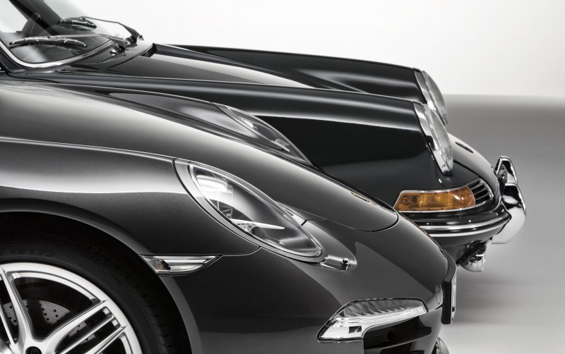 Porsche 911 Carrera S in Gorgeous Photo Shoot with Original Porsche 911 2.0-liter 1