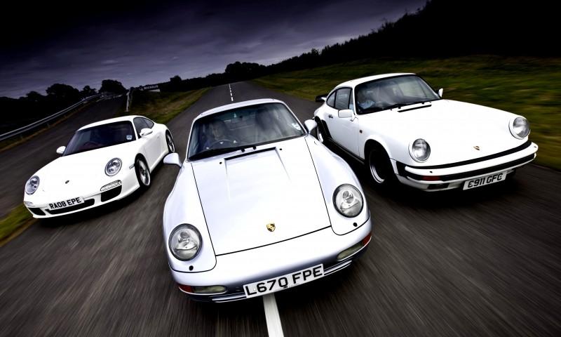 Porsche 911 Turbo Generations 1