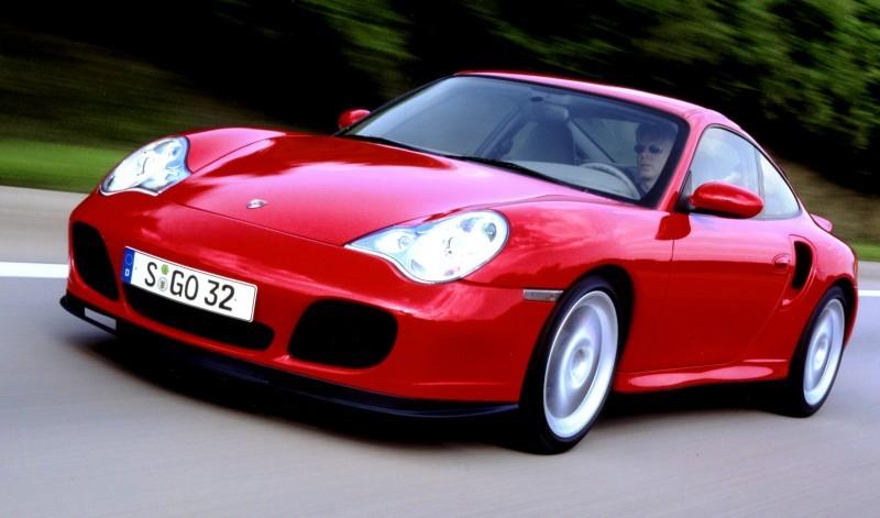 Porsche 911 Turbo Generations 19