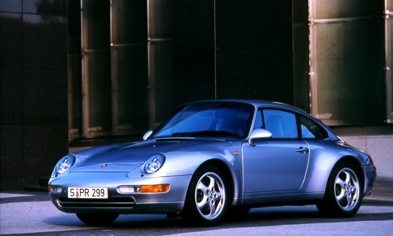 Porsche 911 Turbo Generations 3
