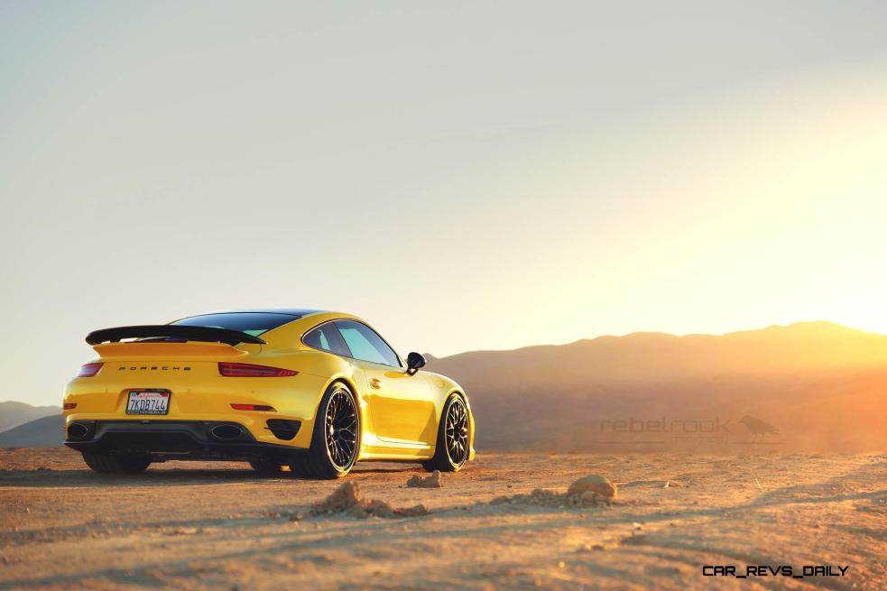 Porsche 991 Turbo S with HRE RC100 in Gloss Black_23805937579_o