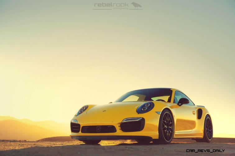 Porsche 991 Turbo S with HRE RC100 in Gloss Black_23878133020_o
