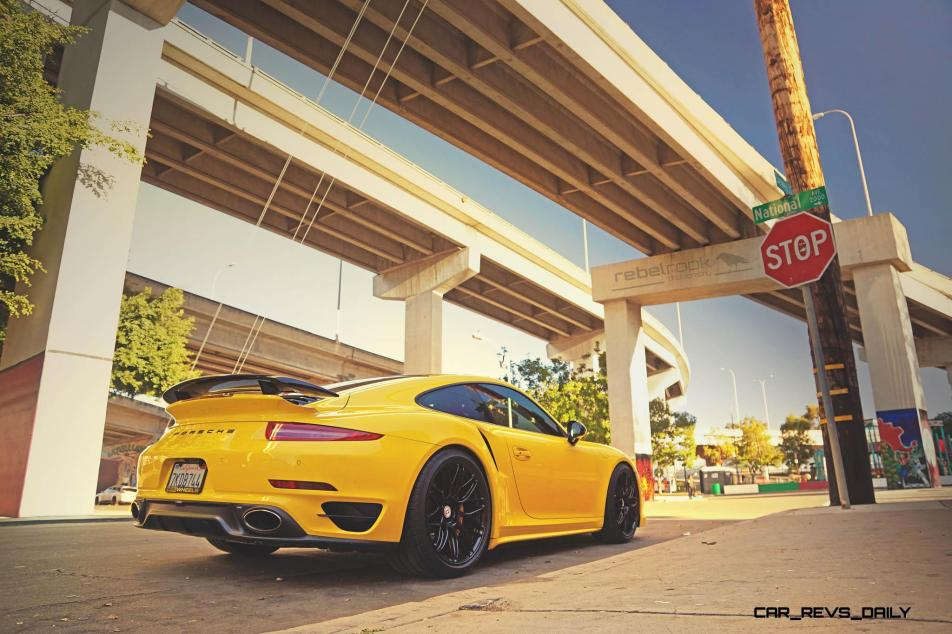 Porsche 991 Turbo S with HRE RC100 in Gloss Black_23878133340_o