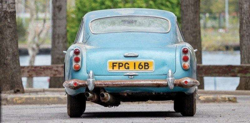 RM Auctions Monterey 2014 Preview - 1961 Aston-Martin DB4 Lost by Castrol Ltd, Found By You 16