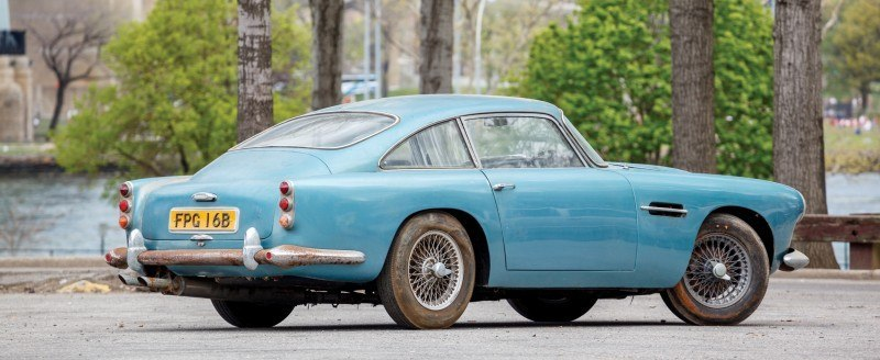 RM Auctions Monterey 2014 Preview - 1961 Aston-Martin DB4 Lost by Castrol Ltd, Found By You 2