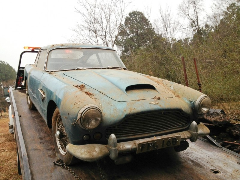 RM Auctions Monterey 2014 Preview - 1961 Aston-Martin DB4 Lost by Castrol Ltd, Found By You 23