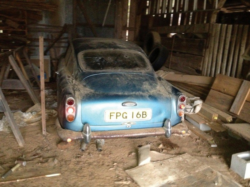 RM Auctions Monterey 2014 Preview - 1961 Aston-Martin DB4 Lost by Castrol Ltd, Found By You 25