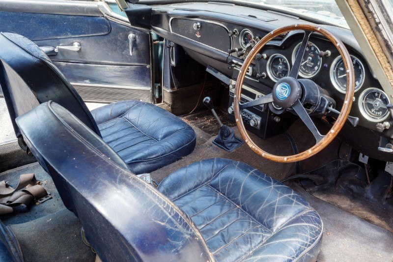 RM Auctions Monterey 2014 Preview - 1961 Aston-Martin DB4 Lost by Castrol Ltd, Found By You 4