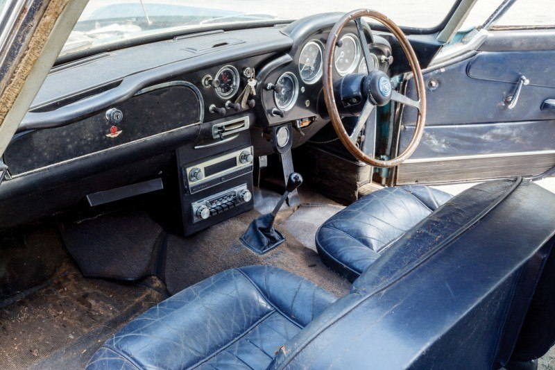RM Auctions Monterey 2014 Preview - 1961 Aston-Martin DB4 Lost by Castrol Ltd, Found By You 9