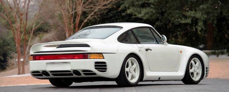 RM Monaco 2014 Highlights - 1985 Porsche 959 Prototype in Bright White Earns $653k 2