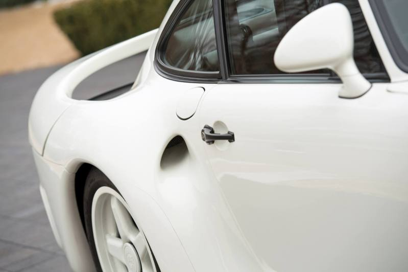 RM Monaco 2014 Highlights - 1985 Porsche 959 Prototype in Bright White Earns $653k 8