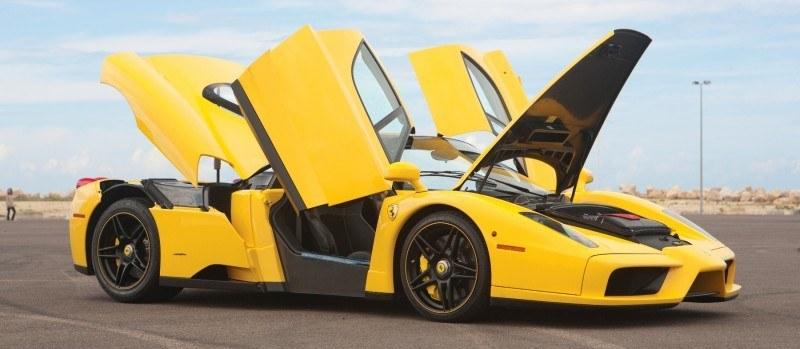 RM Monaco 2014 Highlights - 2003 Ferrari Enzo in Yellow over Black 18