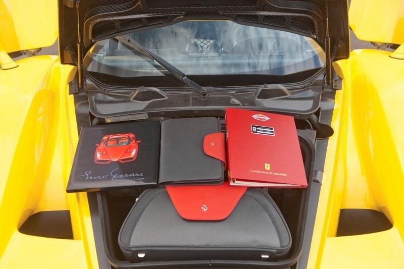 RM Monaco 2014 Highlights - 2003 Ferrari Enzo in Yellow over Black 19
