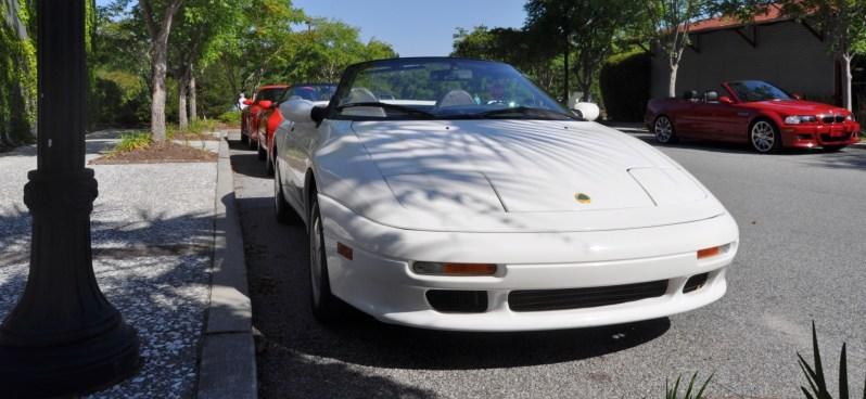 Rare Ragtops - A Pair of Lotus Elans Graced Kiawah Island, SC Cars and Coffee Today 3
