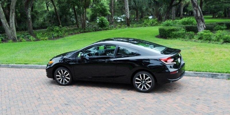 Road Test Review - 2014 Honda Civic EX-L Coupe 115