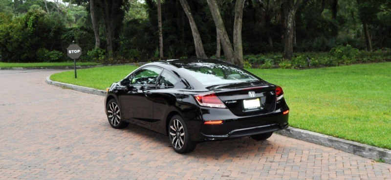 Road Test Review - 2014 Honda Civic EX-L Coupe 118